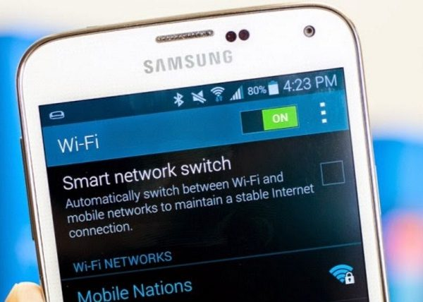 Wi-Fi-Network-on-Galaxy-S5
